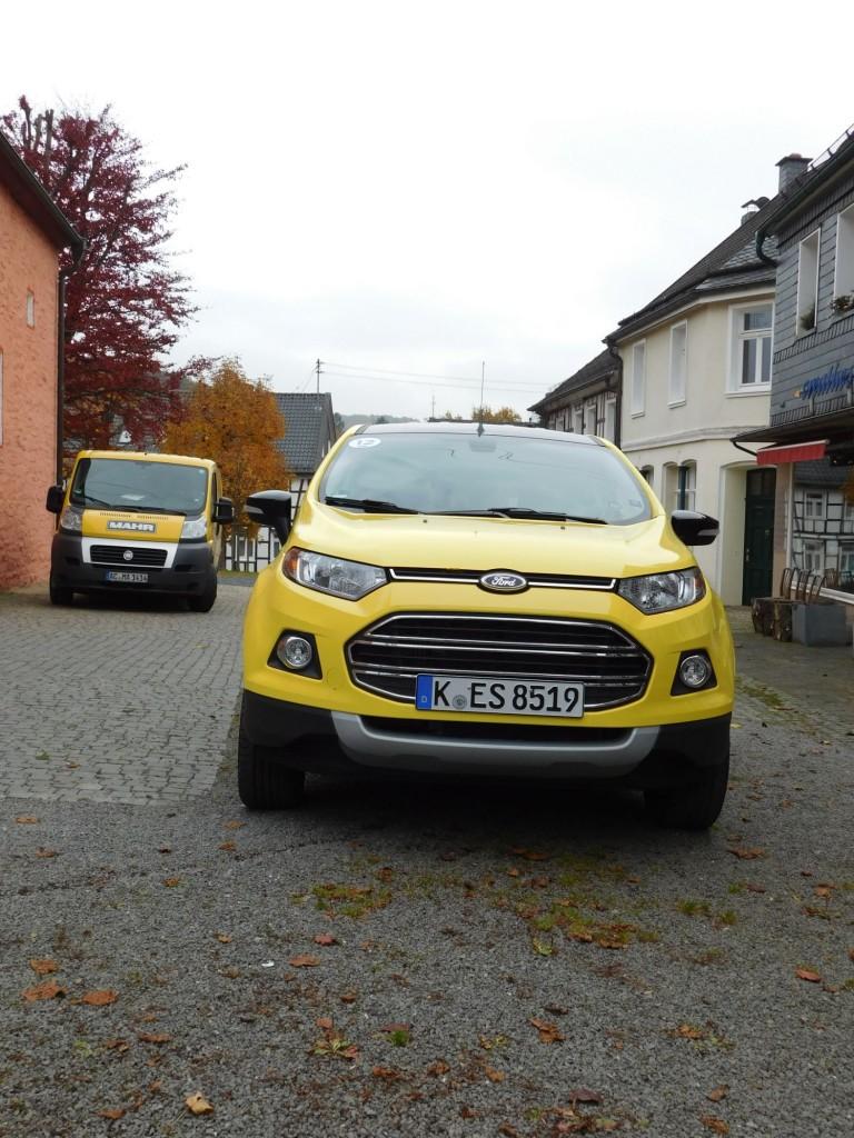 Ford EcoSport von vorne