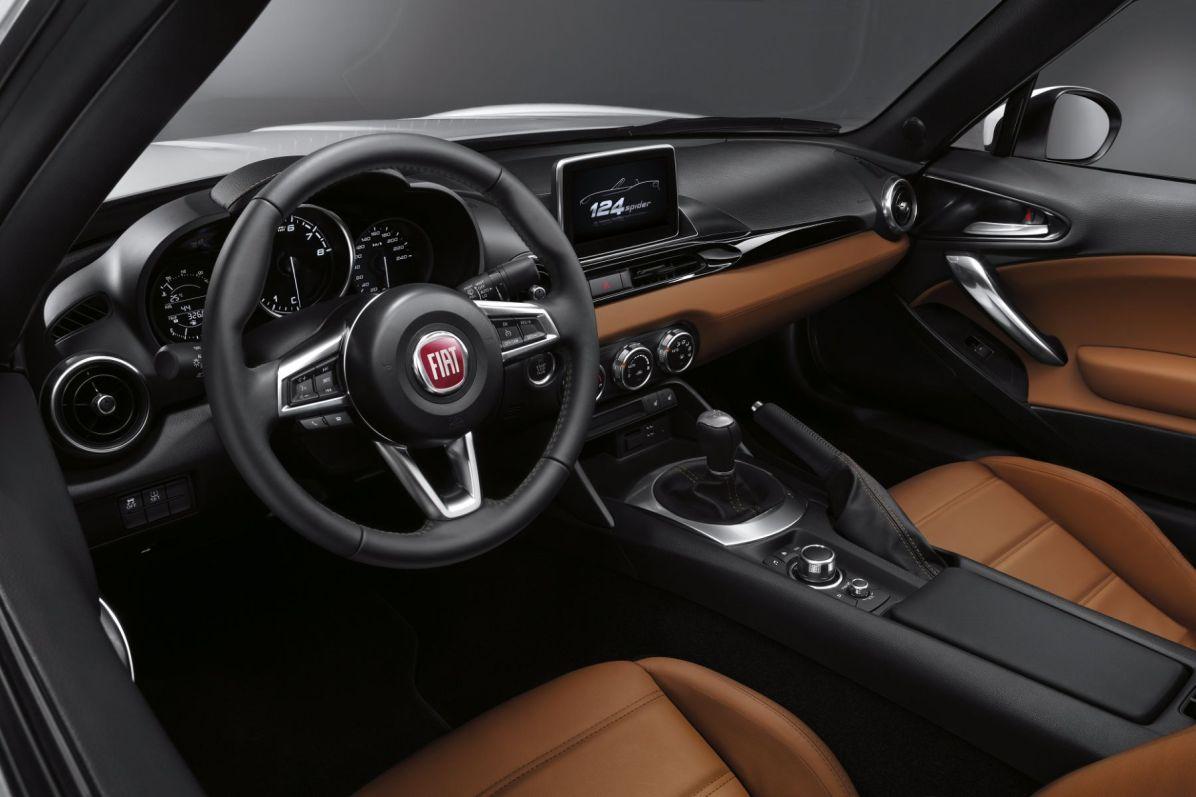 Fiat 124 Spider 2016 Innenraum Interieur