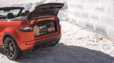 Range Rover Evoque Cabrio 2015 Kofferraumvolumen