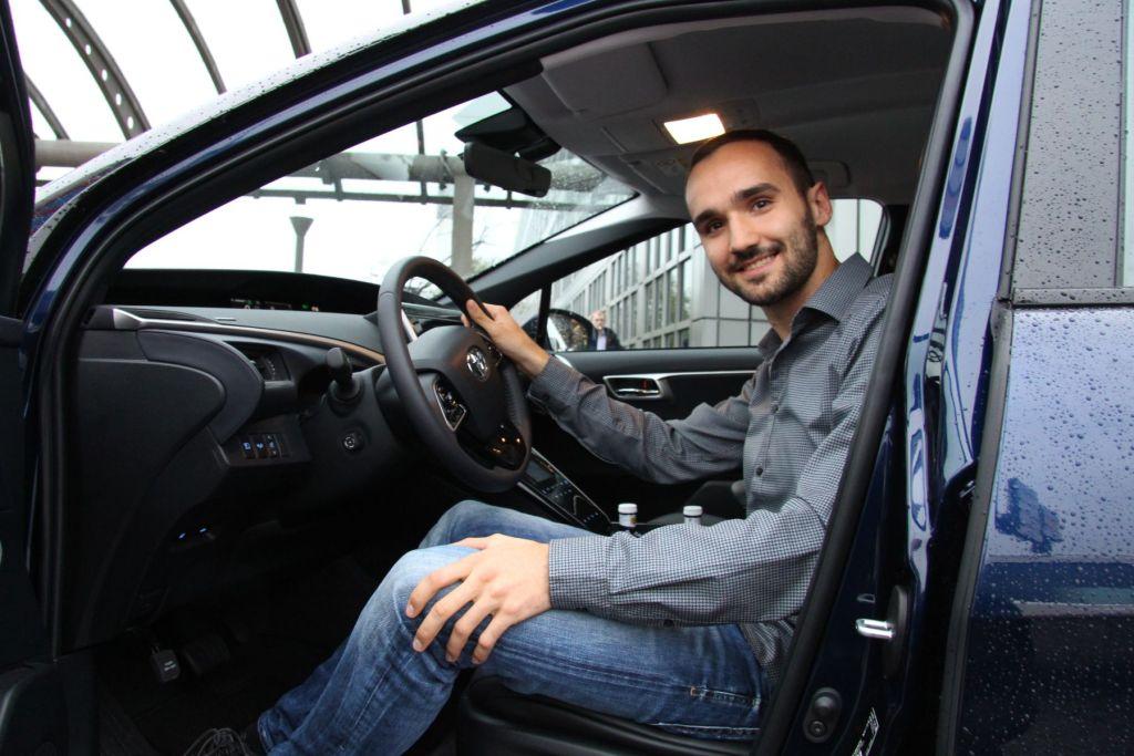 Toyota Mirai 2015 Autotester