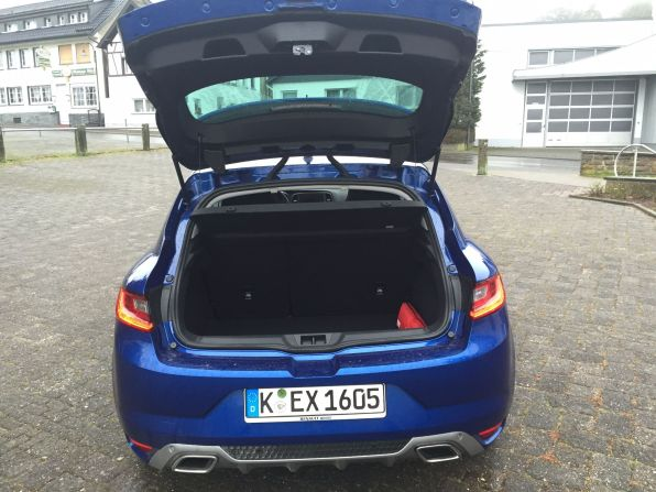 Renault Megané Kofferraum