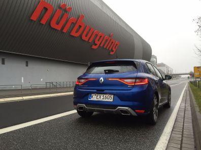 Renault Megané von hinten