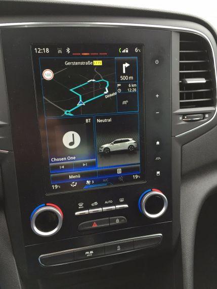 Renault Megané Multimediasystem