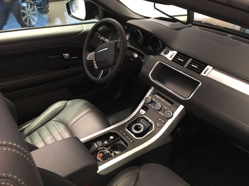 Das Range Rover Evoque Cabriolet Innenraum