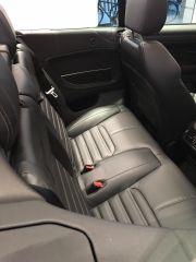 Das Range Rover Evoque Cabriolet Rückbank