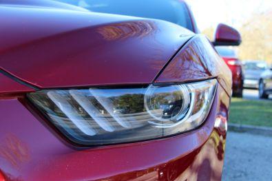 Ford Mustang Convertible 2015 Scheinwerfer