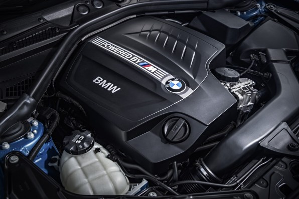 BMW M2 Coupe Motor