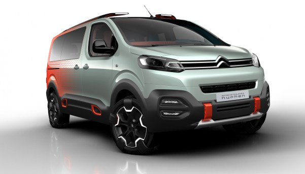 Concept Car Citroën SpaceTourer Hyphen
