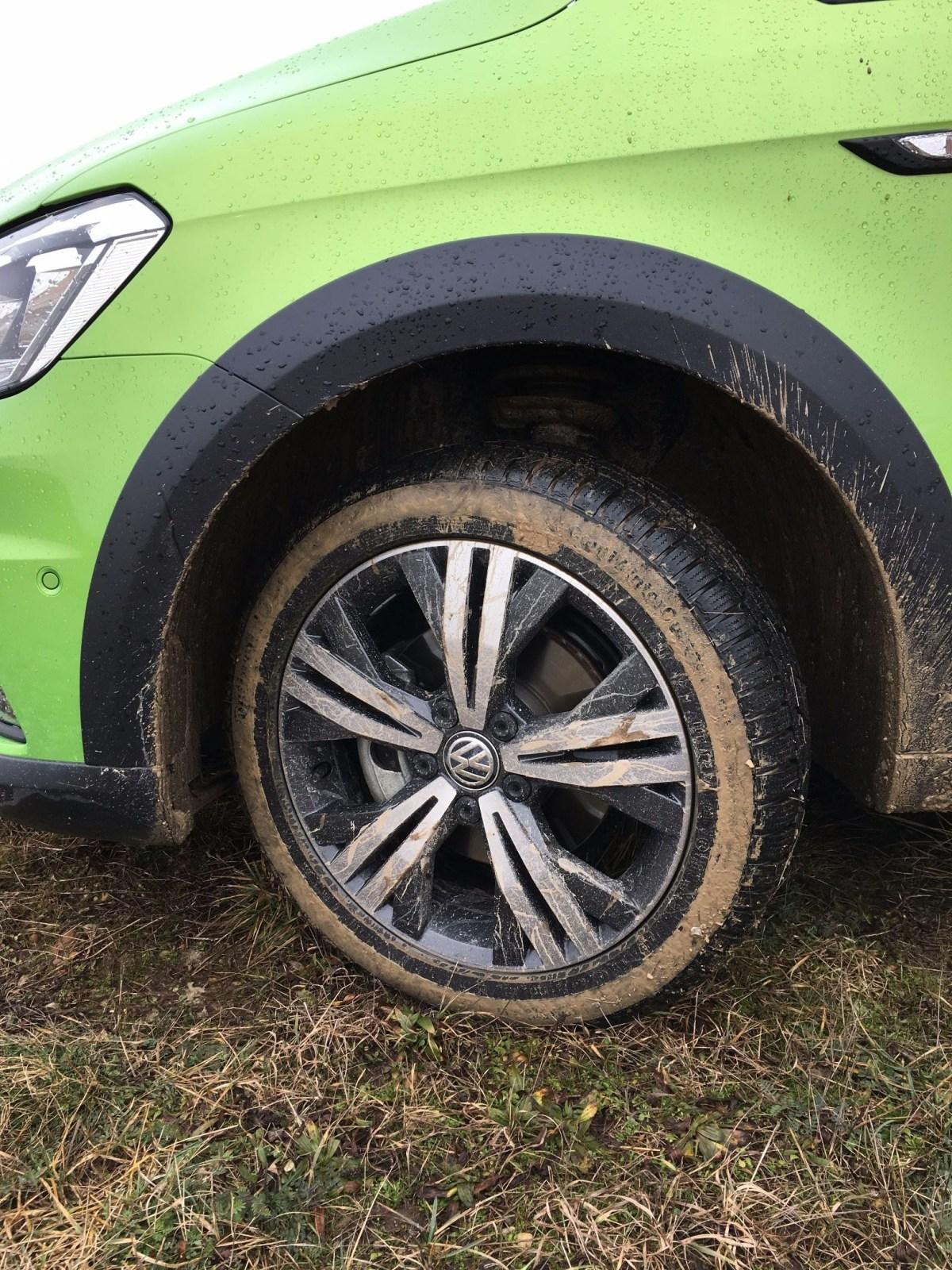 Volkswagen Caddy Alltrack Felge 2016