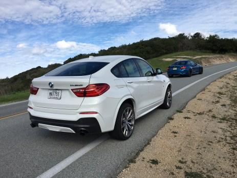 BMW M40i Heckansicht