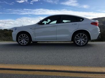 BMW M40i Seitprofil