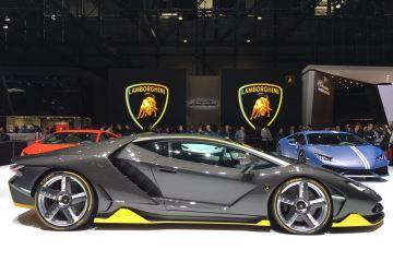 Der Lamborghini Centenario auf dem Genfer Autosalon