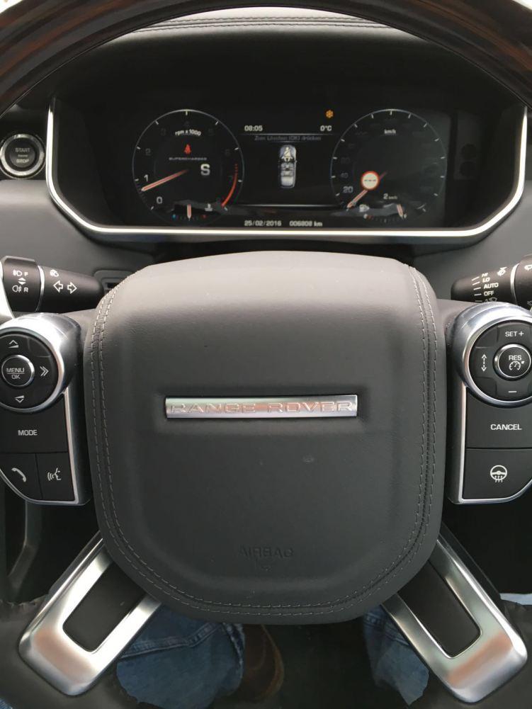 Range Rover SVAutobiography Armaturenbrett