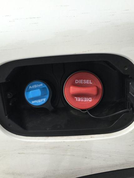 Mercedes GLC, Harnstoff und Diesel-Tank