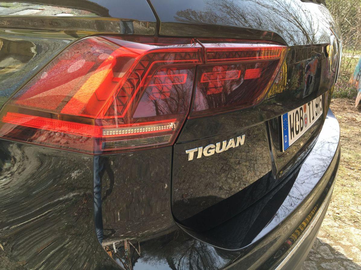 VW Tiguan 2016 Schriftzug