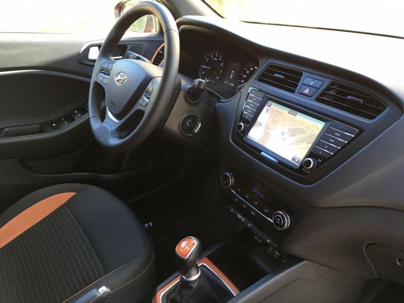 Hyundai i20 Active Innenraum