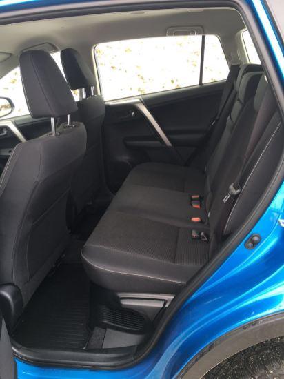 Toyota RAV4 Rückbank