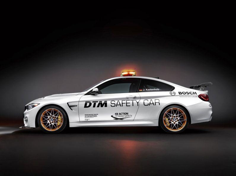 BMW M4 GTS Seitenansicht