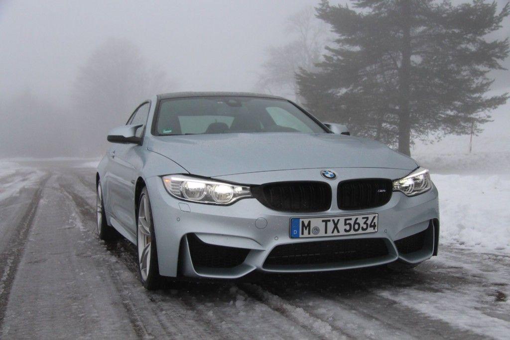 BMW M4 2016 Front Schnee