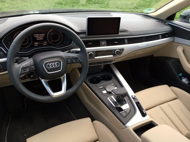 Audi A4 Allroad Cockpit