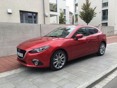 Mazda3 Frontleuchte 2016