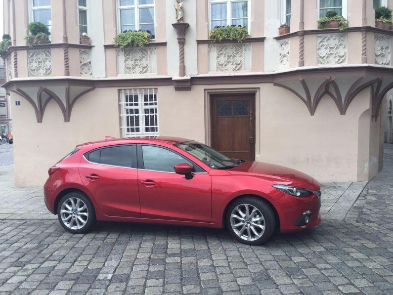 Mazda3 Seitenansicht