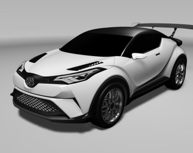 Der neue Toyota C-HR startet als Straßen- und Rennversion am Nürburgring