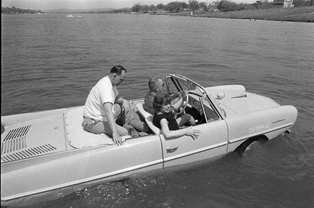 Lyndon B. Johnson fuhr ein Amphicar von 1961.