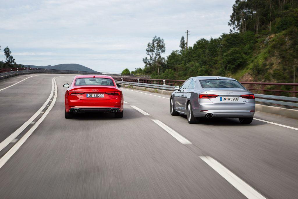 Audi A5 Heck