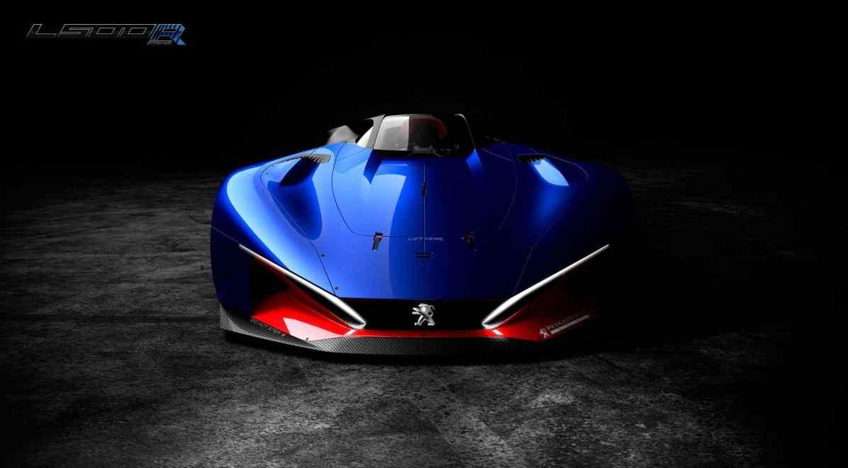 Rennsport-Vision von Peugeot