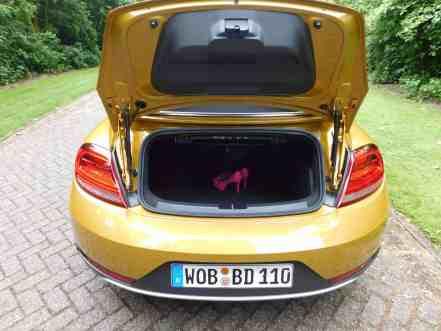 Beetle Dune Cabrio Kofferraum