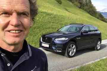 F-Pace - Endlich ein SUV von Jaguar