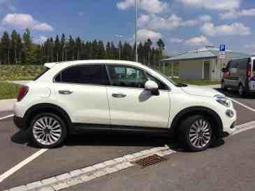 Fiat 500X Seitenansicht