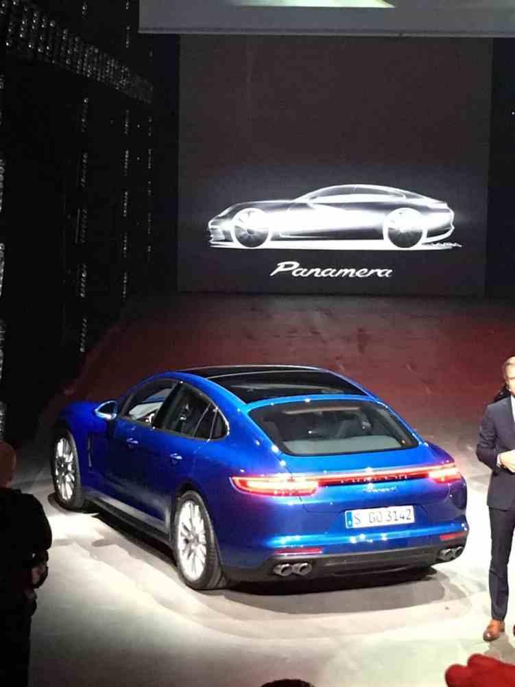 Porsche Panamera Weltpremiere