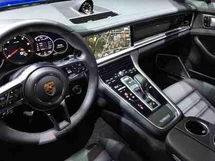Porsche Panamera Innenraum