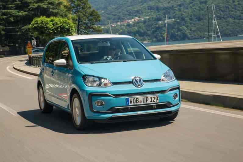 Volkswagen up Scheinwerfer
