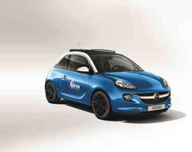 "99 x Opel Adam OPEN AIR ""Wrigley's Extra"""