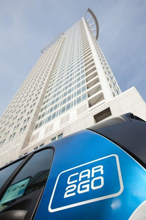 Car2go und VGF bieten Carsharing-Vorteilsangebot