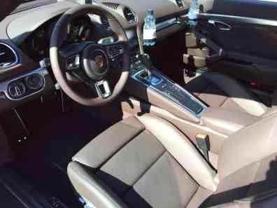 Porsche Cayman S Cockpit