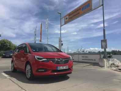 Opel ZafiraKühlergrill