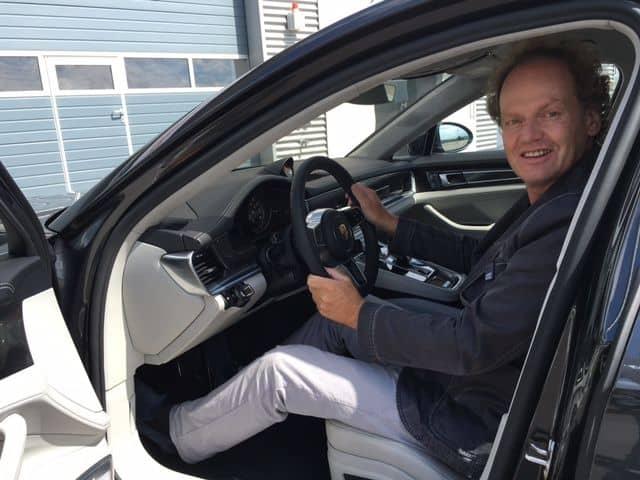 Porsche Panamera Cockpit