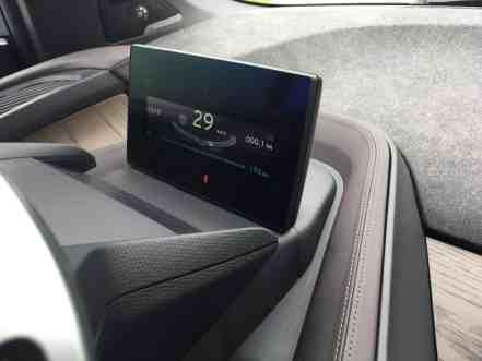 Reichweitenanzeige im BMW i3