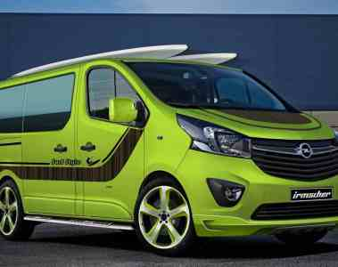 Irmscher tunt den Opel Vivaro