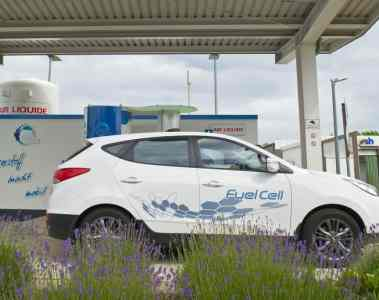 Hyundai eröffnet Wasserstofftankstelle