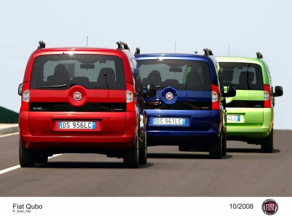 Fiat Qubo Heck