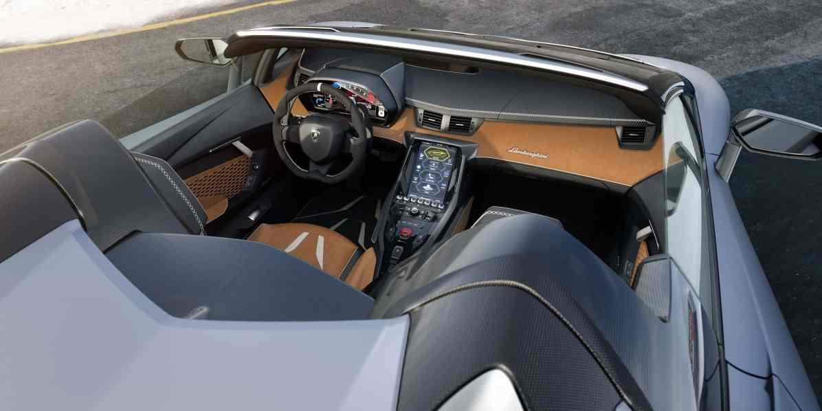 Lamborghini Centenario Roadster Cockpit