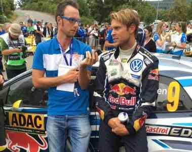 Führung für Andreas Mikkelsen bei der ADAC Rallye Deutschland
