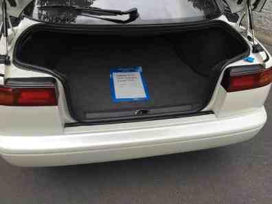 Subaru SVX Kofferraum