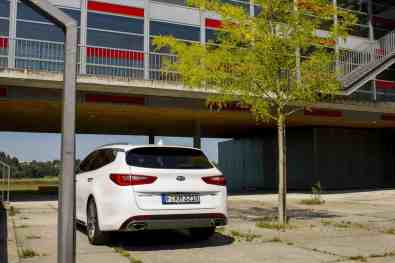 Kia Optima Sportswagon GT Heck