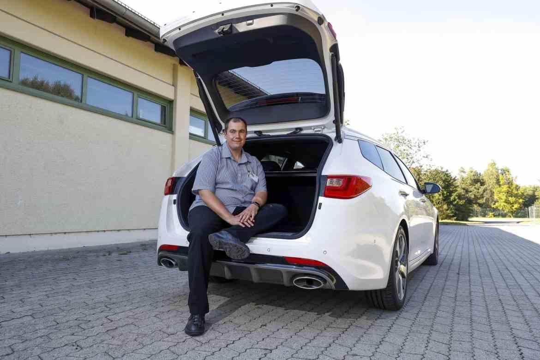 Kia Optima Sportswagon Kofferraum Matthias